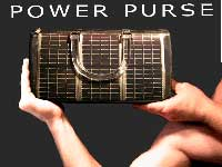 'Power Purse' That Keeps Your Phone Charged