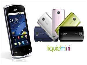 Acer Liquid Mini - The Ace Phone From Acer