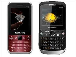 Maxx Mobile MX372 & Maxx MQ368 – 2 New Launches From Maxx Mobiles