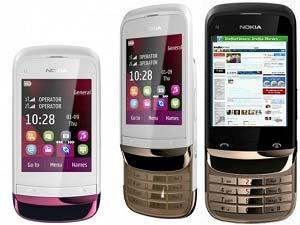 Nokia C2-03 And Nokia C2-06 : 2 Economy Nokia Handsets
