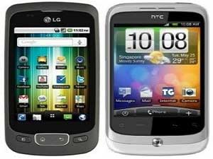 Mid Range Android War - HTC Wildfire Vs LG Optimus P500