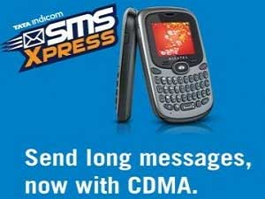 Tata Indicom Launches SMS Express