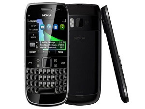 Nokia E6 On Symbian Anna OS