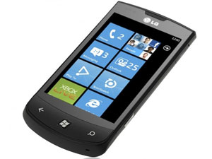 LG E906 May Work On Windows Phone 7 Smartphone