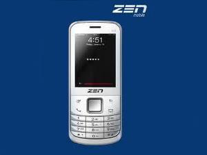 Zen M72, The New Economic Handset From Zen Mobiles