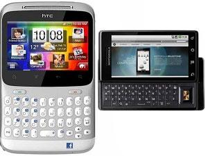 Mid Range Battles: HTC ChaCha Vs Motorola Milestone