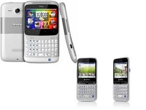 HTC ChaCha And Vodafone 555 Blue Comparison Head To Head