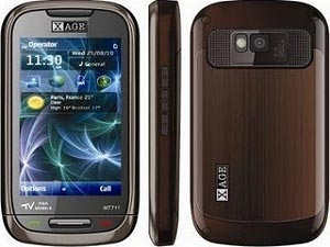 XAGE MT 711 Full Touch Screen Dual SIM Phone Announced