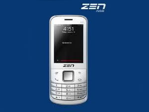 Zen M72, The New Economic Handset From Zen Mobiles