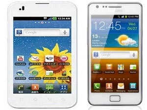 Samsung Galaxy S2 White And LG Optimus White Head To Head Comparison