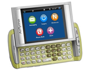 AirTyme Launches Low Cost 3G Phone Torrid