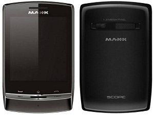 Maxx Scope, New Touch Screen Mobile From Maxx