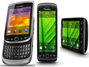 3 New Blackberry Models Launched