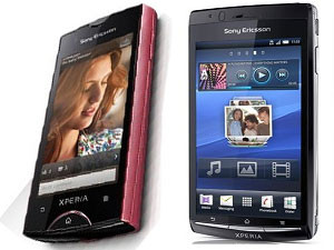 Sony Ericsson Xperia Arc And Xperia Ray Head To Head Comparison