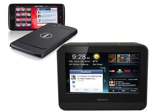 Dell Streak 10 Tablet And Sony S1 Tablet Head To Head Comparison