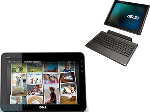 Dell Streak 10 Pro Tablet And Asus EEE Transformer Tablet TF101 Head To Head Comparison