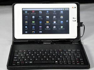 Bharat Slate, A Solar Powered Indian Tablet