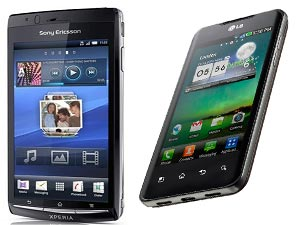 Sony Ericsson Xperia Arc And LG Optimus 2X Head To Head Comparison