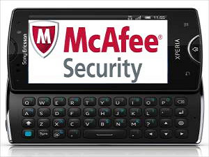 Sony Ericsson Phones Now More Secured With McAfee