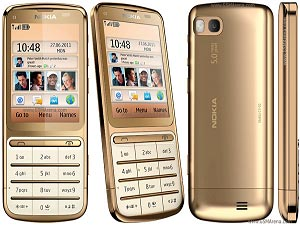 Nokia C3-01 Gold Edition Launched