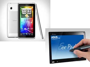HTC Flyer Tablet And Asus EE Pad Tablet Head To Head Comparison