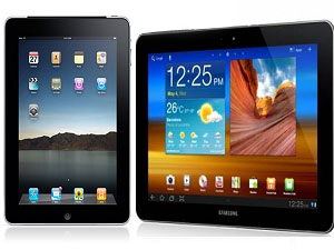 Samsung Galaxy Tab 750 Vs Apple iPad 2 Head To Head Comparison