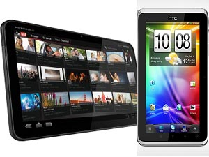 HTC Flyer Tablet And Motorola Xoom Tablet Head To Head Comparison