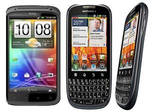 Motorola Pro Plus Vs HTC Sensation Head To Head Comparison