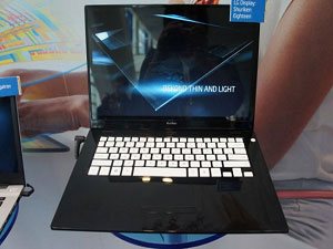 New LG Shuriken Eighteen Ultrabook