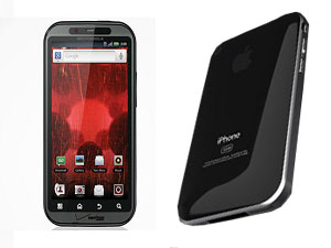 Apple iPhone 5 Vs Motorola Droid Bionic Head To Head Comparison