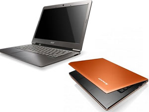 Lenovo U300 And Acer Aspire S3 Ultrabooks Head To Head Comparison