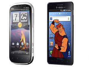 HTC Ruby Vs Samsung Hercules Head To Head Comparison