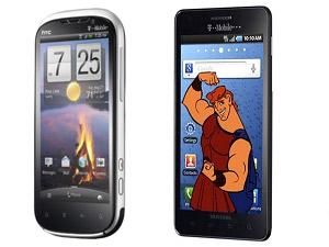 HTC Ruby Vs Samsung Hercules Head To Head Comparison