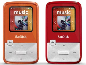 Sansa SanDisk MP3 Player Review