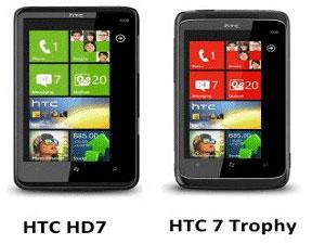 HTC Trophy And HTC HD7 Get Mango Updates