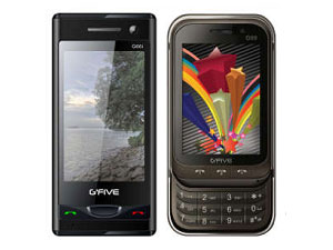 G'Five Mobiles Launches G'Five G99 And G66i