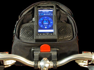 Audible Rush Launches Stereo Bicycle Music Dock