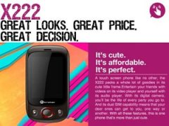 New Micromax X222 Launched