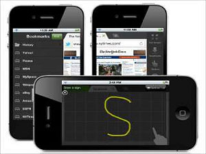 New Browser For Apple iPhone