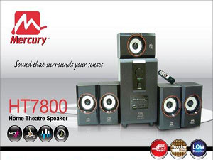 Mercury Home Theatre System Relaunch