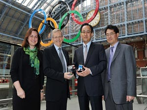 Visa And Samsung To Partner Olympics Phone In UK
