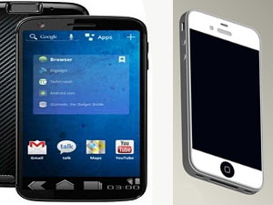 Google Nexus Prime Vs  Apple iPhone 5