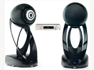 New Trendy L'Océan Stereo Speaker System