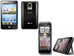 LG Optimus LTE Vs HTC Thunderbolt