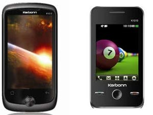 Karbonn Launches 4 Touch Screen Phones