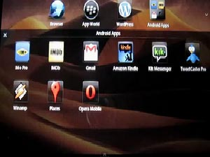 Blackberry Playbook OS Update Unveiled