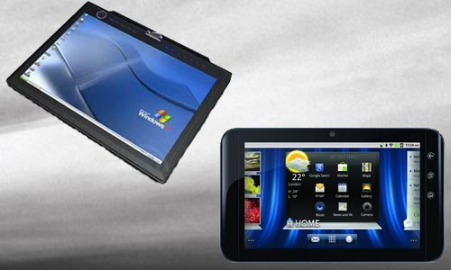 Dell Latitude ST and Dell Streak 7, the latest Windows, Android tablet PCs.