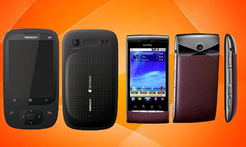 Compared:Karbonn A1, Lava S12 Android Phones