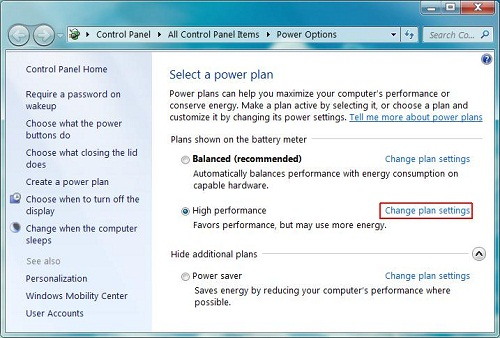how to fix overheating laptop with settings