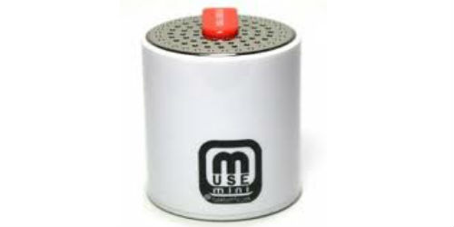 Enjoy music anywhere. Presenting Muse Mini portable speakers